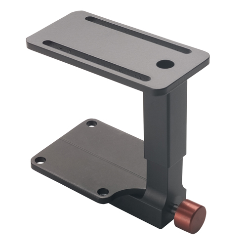 "Push Button Abductor Bracket, 2-Hole Top Plate, Fits Cushion 2""-3"" High"